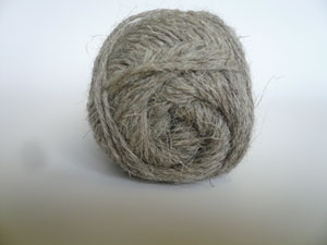 Light Grey Welsh  Double Knitting Yarn - (50 gms)